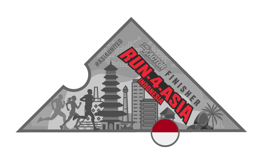 Trifactor Run-4-Indonesia Virtual Run Medal