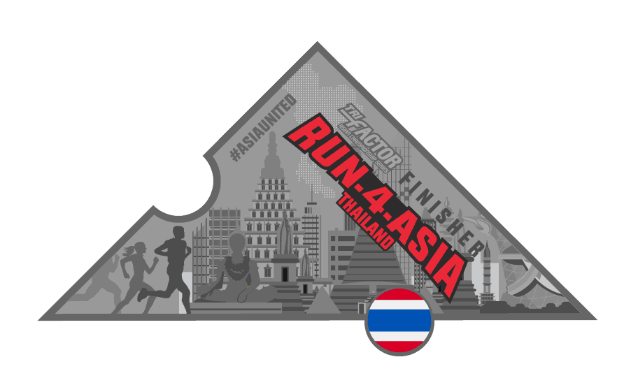 Trifactor Run-4-Thailand Virtual Run Medal